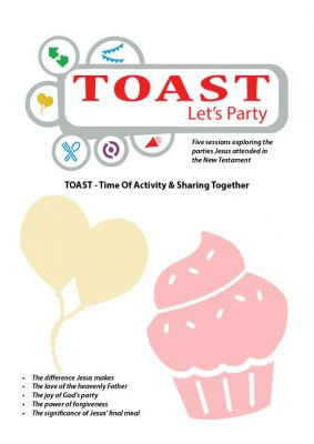 TOAST Let's Party Front