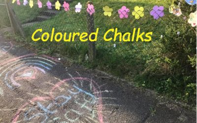 Coloured Chalks and a Bubble Blaster – Whiteway, Bath