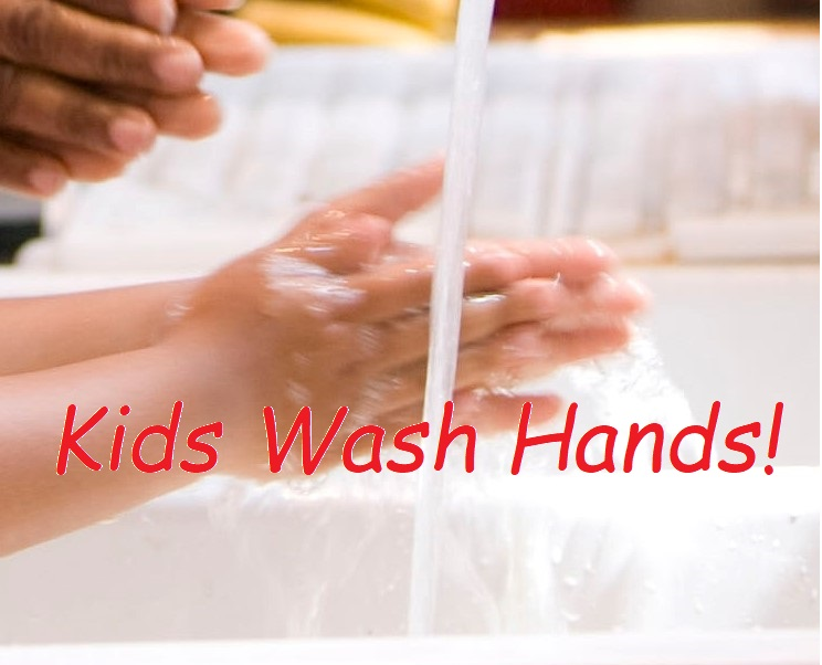 Kids Wash Hands